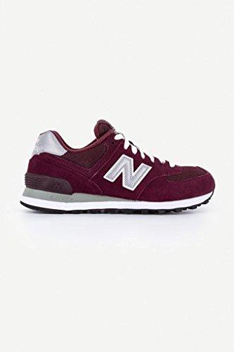 new-balance-m574-mens-suede-mesh-trainers-burgundy-grey-11-uk