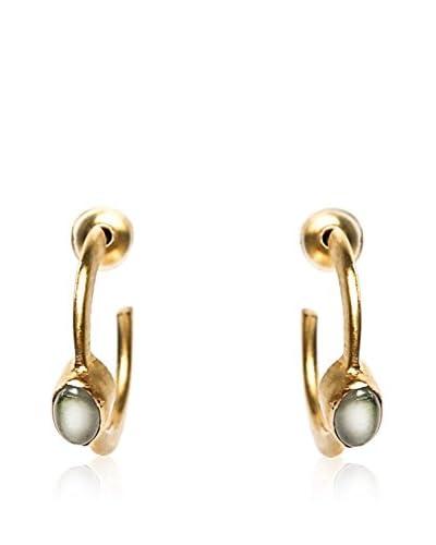 Alibey Accesorios Pendientes  Metal Dorado