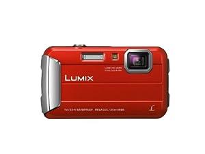 """Panasonic Lumix DMC-FT25EF-R Appareils photo étanches Taille d'écran 2,7""""  (6,7) Zoom optique 4x Rouge"""