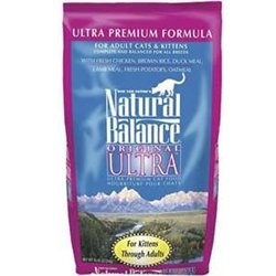 Image of Natural Balance Original Ultra Premium Formula Cat Food, 6-Pound Bag