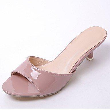 Y&T scarpe talloni delle donne / sandali peep toe partito&sera / vestito / a spillo tacco casuale altri , pink , us8 / eu39 / uk6 / cn39
