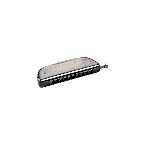 Hohner 253 Chrometta 10 Harmonica, Key Of C Major