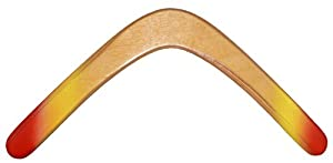 Glacier Wooden Boomerang - For Kids 8-18!