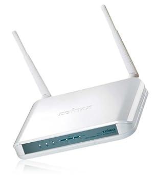 Edimax 300Mbps - Router (10, 100 Mbit/s, 10/100Base-T(X), 802.11b, 802.11g, 802.11n, 300 Mbit/s, Ethernet (RJ-45), IEEE 802.11b, IEEE 802.11g, IEEE 802.11n, IEEE 802.3, IEEE 802.3u) Color blanco