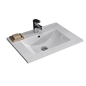 EAGO Waschbecken BB087E (Einbau) 60cm breit  BaumarktKritiken und weitere Infos