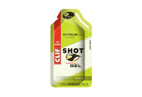 Clif Bar Citrus Energy Gel w/Caffeine - Box of 24 - citrus,