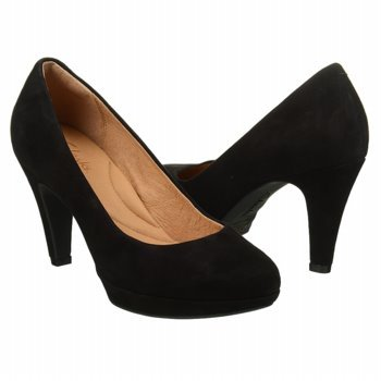 indigo by Clarks Women's Wessex Wyvern Platform Pump,Black Suede,9.5 M US