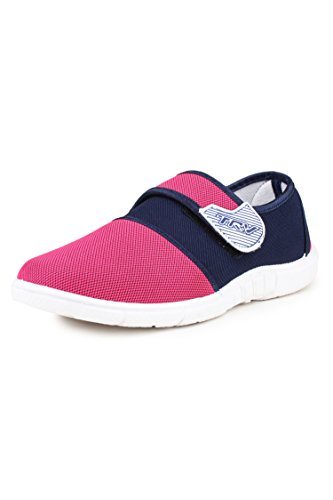 TRV Women's Pink Canvas Bellies (Silk4) - 9 UK