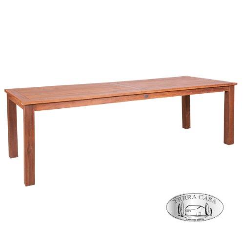 Esstisch BANDUNG 240 cm Teakholz Tisch eckig Gartentisch Gartenmöbel Premiumqualität online bestellen