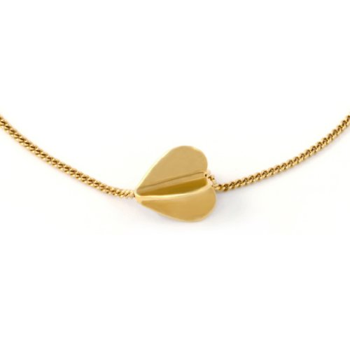 Oak-My-Heart-Spins-18ct-Gold-Vermeil-Bracelet-of-18cm