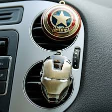 voiture-style-iron-man-captain-america-shield-sortie-parfum-original-parfum-automatique-air-voiture-