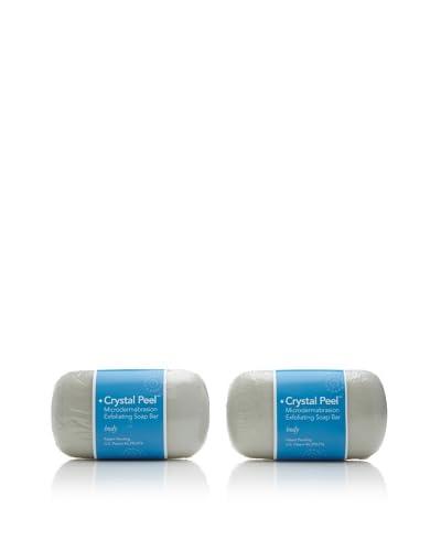Crystal Peel Microdermabrasion Exfoliating Body Soap Bars, 2-Pack
