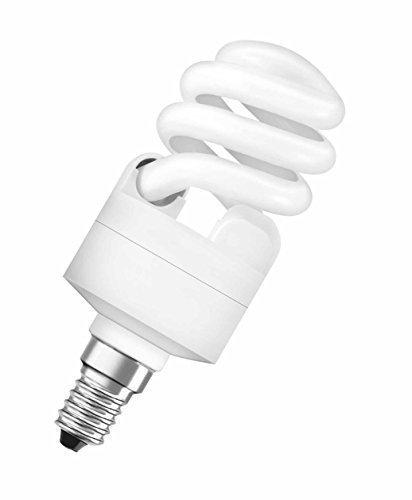 Osram 600lm Duluxstar Mini Twist E14 mini Energiesparlampe in gedrehter Form DST MITW 11 W/865 E14