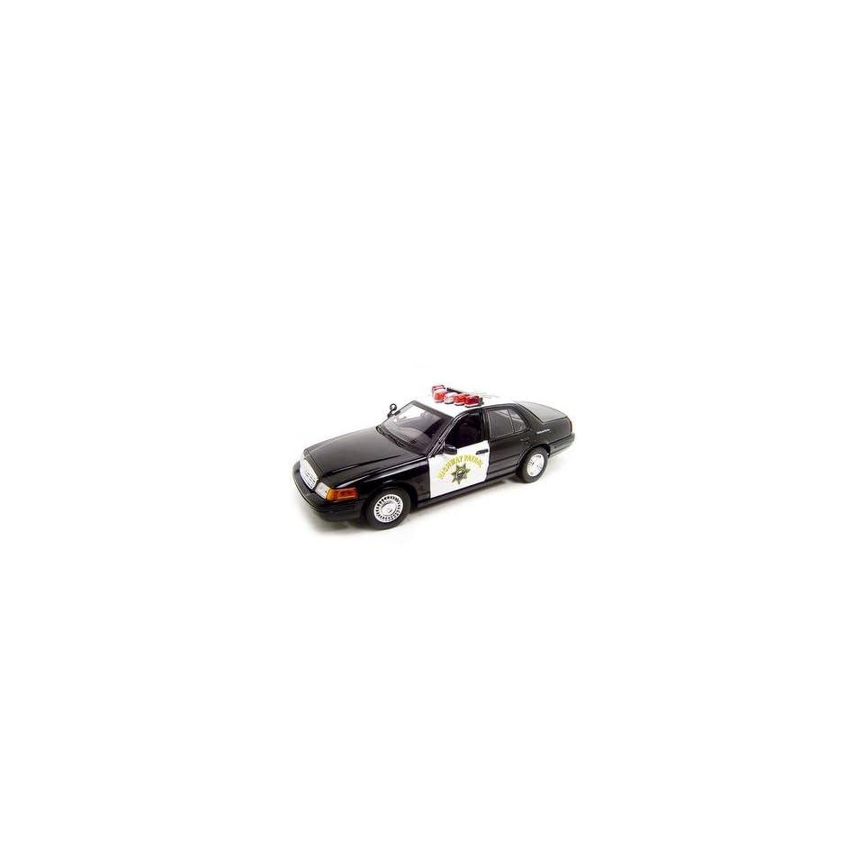 Ford Crown Victoria Chp Police Car 118 Diecast