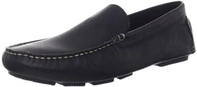 Hush Puppies Men's Monaco MT Slip-On Loafer, Black Leather, 7 M US