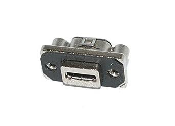 USB Connectors MICRO-AB USB RECEPT R/A PCB MOUNT IP67 (50