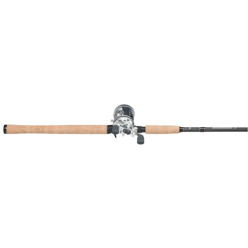 Abu Garcia 6500/701MH Ambassadeur S Rod and Reel Combo, Right, 255/17-Pound