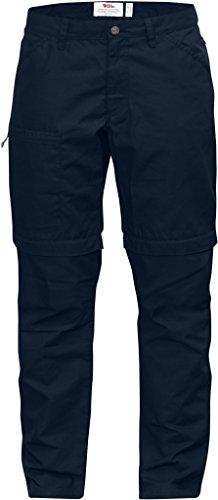 Fjällräven-Pantaloni da donna High Coast pantaloni Zip-off W 89581 blu navy W46