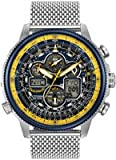 Citizen Eco-Drive JY8031-56L Mens Blue Angel Navihawk AT Chronograph World Watch