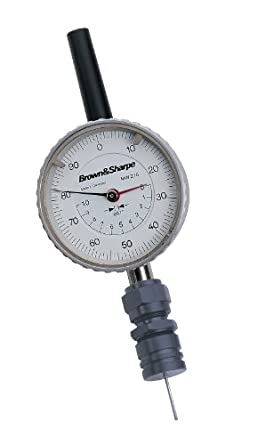 Brown & Sharpe 599-610 Dial Depth Gauge for Small Holes