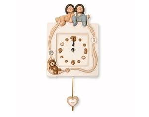 Thun orologio da parete pendola amorino art k1289 cm for Orologio pendolo thun