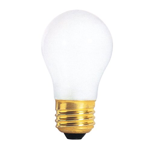 Bulbrite 60A15F 60-Watt Incandescent A15 Appliance Bulb, Frost