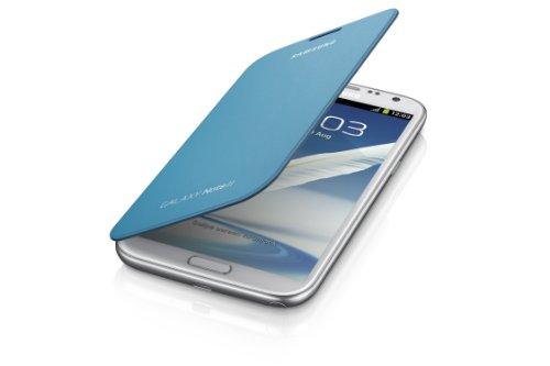 Samsung Galaxy Note 2 Flip Cover Case (Light Blue) (Samsung Galaxy Note Ii Phone compare prices)