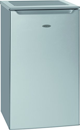 Bomann-KS-2261-refroidissement-RfrigrateurA-853-cm-Hauteur109-kWhan74-L-Argent-Partie10-L-Partie-ConglateurRfrigrateur-avec-compartiment--glaceArgent