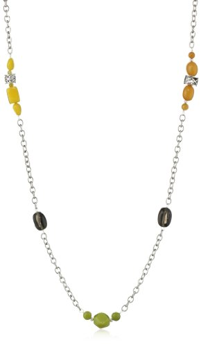Bronzed by Barse Multi-Stone Necklace