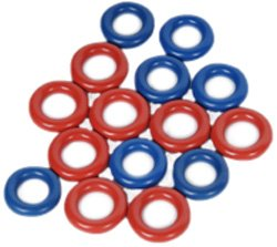ACDelco 217-1624 GM Original Equipment Fuel Injector O-Ring Kit with Assorted O-Rings (Corvette Fuel Injector compare prices)