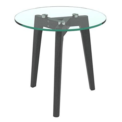bonVIVO-Design-Couchtisch-Filippa-Beistelltisch-Im-Retro-Look-Mit-Glasplatte-Und-Massiv-Holz-Fssen-Aus-Eiche-In-Schwarz-Black-Gro