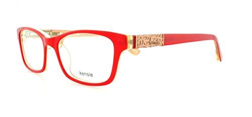 kensie-brillen-zeitloses-rot-50-mm