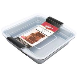 Bulk Buy: Wilton (2-Pack) Recipe Right Covered Brownie Pan 9'X9' W9199 (Wilton Recipe Right Covered Pan compare prices)