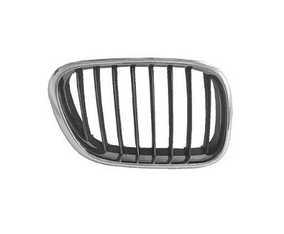 PASSENGER SIDE GRILLE BMW X5 CHROME;. (WITHOUT MFR MANUFACTURER EMBLEMS / LOGOS. THEY ARE TRADEMARK PROTECTED.) (2001 Bmw X5 Grille compare prices)