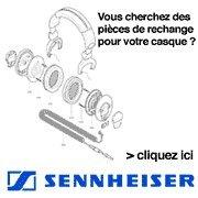 Accessoires casques Sennheiser Mousse
