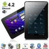 SVP Phablet Unlocked Android 4.2.2 Bluetooth GPS Capacitive 5-Point Multi-Touch Screen (Black)