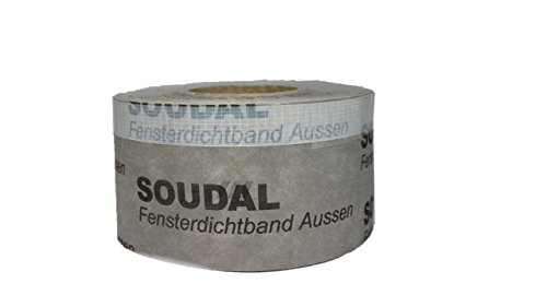 soudal fensterdichtband aussen 75mm x 25m soudal. Black Bedroom Furniture Sets. Home Design Ideas
