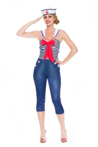 Delicious Women's Come Sail Away Sailor Costume