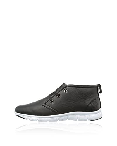 Homeboy Sneaker Alta Santoz [Nero]