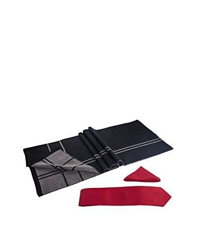 Giorgio Di Mare Set Bufanda + Corbata + Pañuelo Líneas