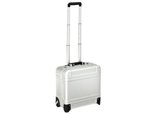 Zero-Halliburton-Geo-Aluminum-Wheeled-Business-Case-Silver-One-Size