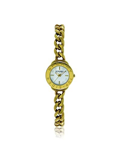 Sperry Women's 103466 Newport Mini Gold/Mother-of-Pearl Stainless Steel Watch