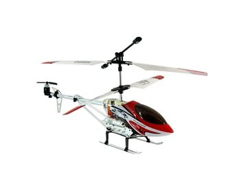 DH1789 3-Channel Digital RC Coaxial Helicopter Model (Red)