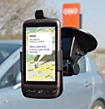 FoneM8   HTC Desire PREMIUM Dedicated Windscreen Mount Car Holder Kit INCLUDES Car Charger   Lifetime Warranty portable sound vision