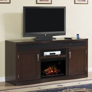 Classicflame Endzone Electric Fireplace Entertainment Center In Espresso - 26Tf8299-E451