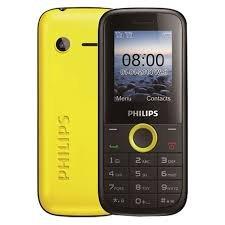 Philips E130 Yellow Mobile Phone
