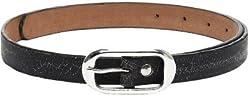 Fume Designs Men's Leather Belt - FB BL 24L_Black_36