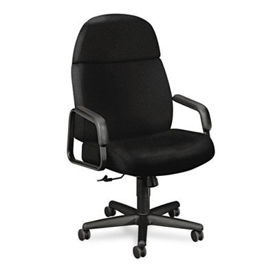Hon High-Back Executive Chair, 28-1/4 by 40 by 48-1/2-Inch, Black