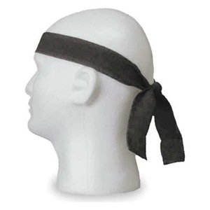Buy Maxit Bandit Tie On Moisture Wicking Headband Black 101010009 by Maxit
