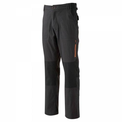 Bear Grylls Survivor Full Stretch Men's Trouser - Black Pepper/Black, 42 Inch - Regular Leg